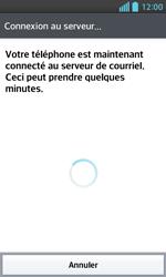 LG E460 Optimus L5 II - E-mail - Configurer l