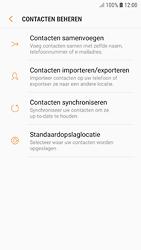Samsung galaxy-s7-android-oreo - Contacten en data - Contacten kopiëren van toestel naar SIM - Stap 7