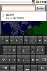 Samsung Galaxy Spica (GT-i5700) - Internet - Hoe te internetten - Stap 14