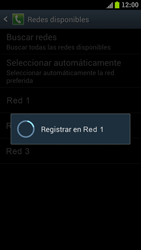 Samsung I9300 Galaxy S III - Red - Seleccionar una red - Paso 10