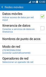 Samsung Galaxy Core Prime - Red - Seleccionar el tipo de red - Paso 6