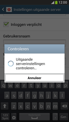 Samsung G386F Galaxy Core LTE - E-mail - Account instellen (IMAP met SMTP-verificatie) - Stap 16