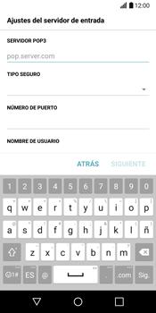 LG G6 - E-mail - Configurar correo electrónico - Paso 11