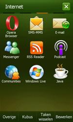 Samsung I8000 Omnia II - E-mail - Handmatig instellen - Stap 4