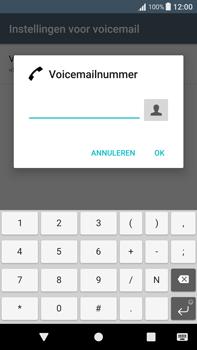 Sony Xperia XA1 Plus (G3421) - Voicemail - Handmatig instellen - Stap 8