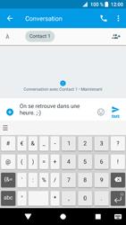 Sony Xperia XZ1 - Contact, Appels, SMS/MMS - Envoyer un SMS - Étape 8