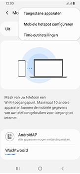 Samsung galaxy-a40-dual-sim-sm-a405fn - WiFi - Mobiele hotspot instellen - Stap 8