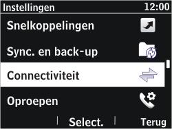 Nokia Asha 302 - Wifi - handmatig instellen - Stap 3