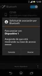 Sony Xperia L - Bluetooth - Conectar dispositivos a través de Bluetooth - Paso 7