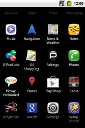 Alcatel OT-991 Smart - Voicemail - Manual configuration - Step 3