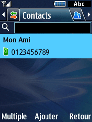 Samsung Solid 271 - Contact, Appels, SMS/MMS - Envoyer un MMS - Étape 6