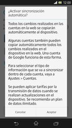 Sony Xperia Z - Primeros pasos - Activar el equipo - Paso 18