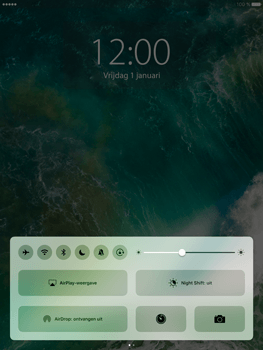 Apple iPad Pro 9.7 - iOS 10 - iOS features - Vergrendelscherm - Stap 6