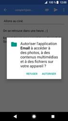 Sony Xperia XZ1 - E-mails - Envoyer un e-mail - Étape 11