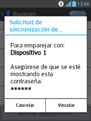 LG Optimus L3 II - Bluetooth - Conectar dispositivos a través de Bluetooth - Paso 8