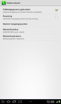 Samsung P3100 Galaxy Tab 2 7-0 - Netwerk - gebruik in het buitenland - Stap 8