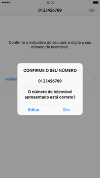 Apple iPhone 7 Plus - Aplicações - Como configurar o WhatsApp -  10