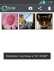 LG Optimus L3 II - Bluetooth - Transferir archivos a través de Bluetooth - Paso 11
