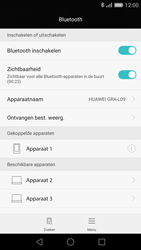 Huawei P8 - Bluetooth - headset, carkit verbinding - Stap 7