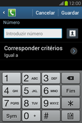 Samsung Galaxy Fame - Chamadas - Bloquear chamadas de um número -  8