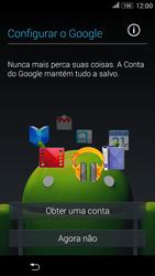 Sony Xperia E4G - Primeiros passos - Como ativar seu aparelho - Etapa 10