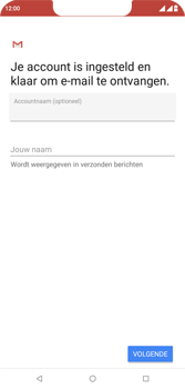 Wiko View 2 Plus - E-mail - e-mail instellen: IMAP (aanbevolen) - Stap 19