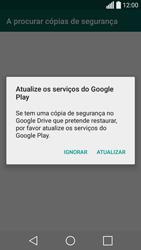 LG C70 / SPIRIT - Aplicações - Como configurar o WhatsApp -  9