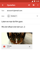 Nokia 8 (SingleSIM) - E-mail - Bericht met attachment versturen - Stap 15