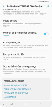 Samsung Galaxy Note9 - Segurança - Como ativar o código PIN do cartão de telemóvel -  5