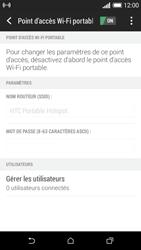 HTC Desire 610 - Internet et connexion - Partager votre connexion en Wi-Fi - Étape 12