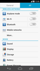 Huawei Ascend P6 LTE - Internet - Enable or disable - Step 4