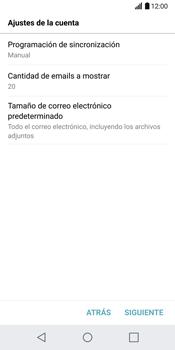 LG G6 - E-mail - Configurar correo electrónico - Paso 20