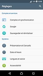 Sony Xperia X - Android Nougat - Device maintenance - Retour aux réglages usine - Étape 5