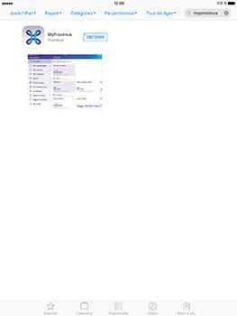 Apple iPad Pro 9.7 - iOS 10 - Applications - MyProximus - Étape 6
