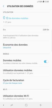 Samsung Galaxy S8 Plus - Android Oreo - Internet - Désactiver les données mobiles - Étape 6