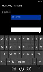 Nokia Lumia 625 - Contact, Appels, SMS/MMS - Envoyer un SMS - Étape 9