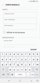 Samsung N950F Galaxy Note 8 - E-mail - Configuration manuelle - Étape 10