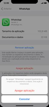 Apple iPhone X - Aplicações - Como desinstalar/remover aplicação -  7