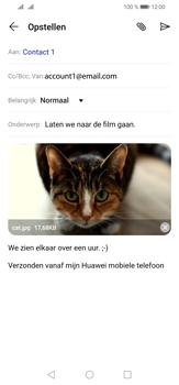 Huawei P30 Lite - E-mail - e-mail versturen - Stap 15