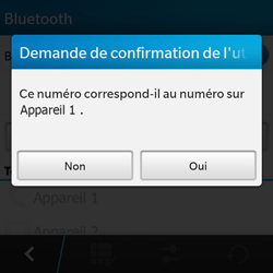 BlackBerry Q10 - Bluetooth - connexion Bluetooth - Étape 10