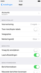 Apple iPhone 6 iOS 10 - E-mail - Account instellen (POP3 zonder SMTP-verificatie) - Stap 15