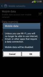 Samsung C105 Galaxy S IV Zoom LTE - Internet - Enable or disable - Step 7
