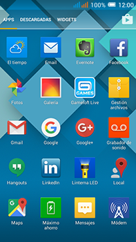 Alcatel Pop C9 - E-mail - Configurar Gmail - Paso 3