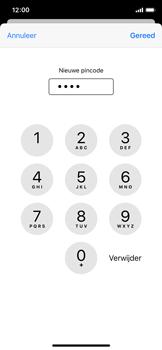 Apple iPhone X - iOS 13 - Beveiliging - pas de pincode voor je simkaart aan - Stap 9