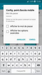 Samsung Galaxy J3 (2016) - Internet et connexion - Partager votre connexion en Wi-Fi - Étape 9