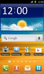 Samsung I8530 Galaxy Beam - Internet - automatisch instellen - Stap 1