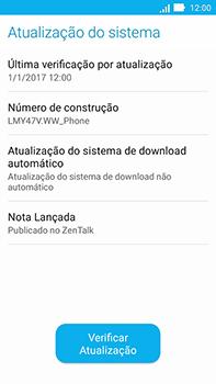 Asus Zenfone Go - Funções básicas - Como atualizar o software do seu aparelho - Etapa 6