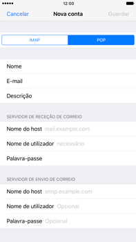 Apple iPhone 7 Plus - Email - Configurar a conta de Email -  12