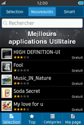 Samsung Wave M - Applications - Télécharger une application - Étape 5
