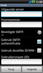 LG P990 Optimus 2X Speed - E-mail - e-mail instellen: POP3 - Stap 9